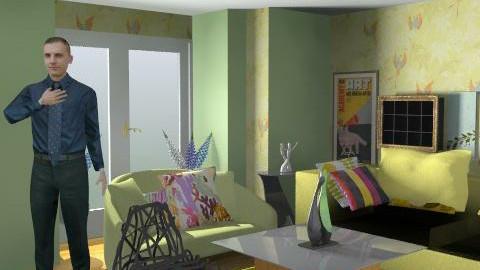 livingroom - Glamour - Living room  - by ATELOIV87