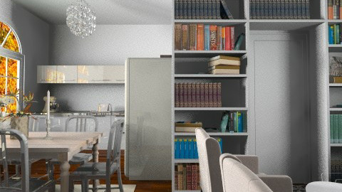 white first apartment - Eclectic - by martinabb