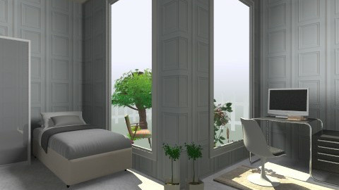 Peace room - Glamour - Bedroom  - by Haecinta