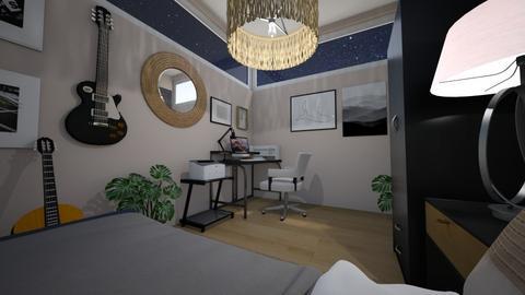 Bedroom ARVT3 1 - Modern - Bedroom  - by alilabs
