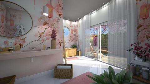 Sakura Bathroom - Bathroom  - by Claudia Correia