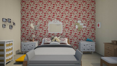 quarto adolecente - Bedroom - by Bruna Bonadiman Morelato