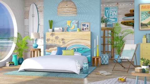 Surf Bedroom - Bedroom  - by LB1981