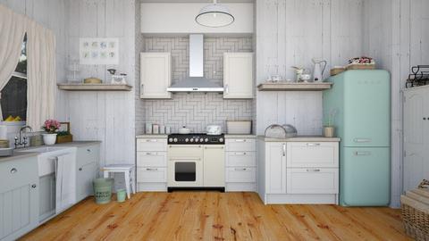 Shabby kitchen - Classic - Kitchen - by martinabb