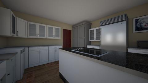 Final Kitchen w MB closet - Kitchen  - by cpstanton2013