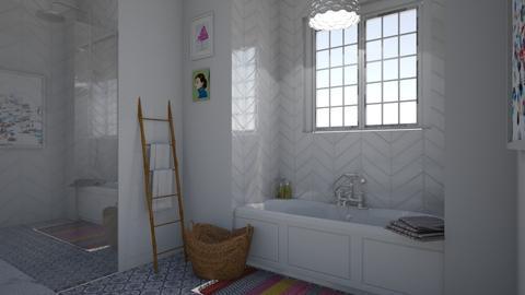 Kids Bathroom - Bedroom  - by virtuestella