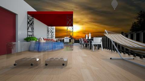 roof top - Modern - by decordiva1
