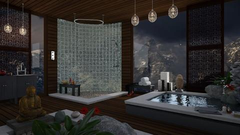 Alpine - Modern - Bathroom  - by mmehling