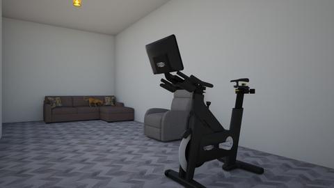 Actividad 3 casa  - Modern - Living room - by Juanmamartinez0