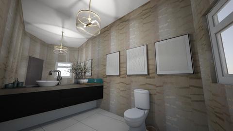BANO BOSQUES - Bathroom  - by oscarflores