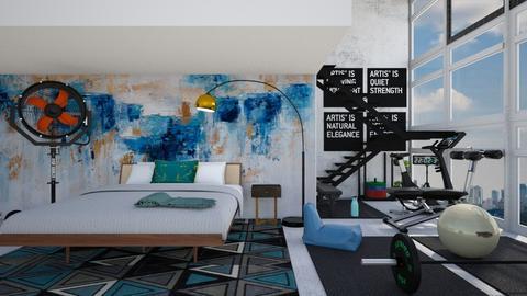 E15_Metal bedroom - by allessa