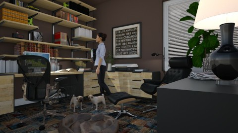 Home Office for Kelly II - Office  - by Valentinapenta