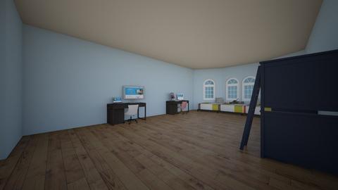 Teen room - Modern - Bedroom  - by TECHgal25