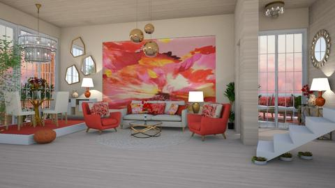 THE ORANGE PLACE - Modern - Living room  - by RS Designs