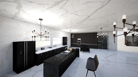 d - Modern - Living room  - by ade1