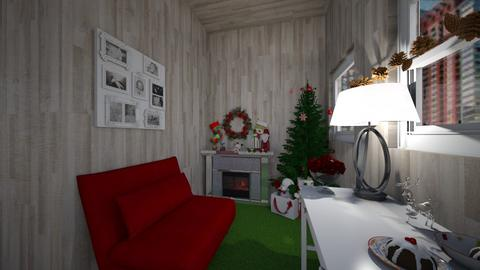 Santas Office - Country - Office  - by CocoChanel12