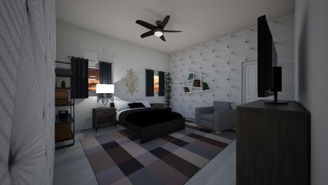 bedroom lol - Modern - Bedroom  - by lelandJ889