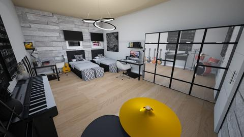 family home 125 - Modern - Bedroom  - by Stavroula Chatzina