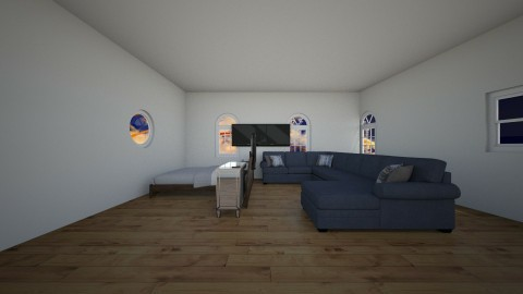 poor - Modern - Living room - by RookiePlaysYT