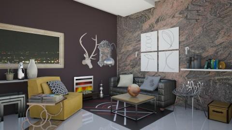 L2 - Modern - Living room - by Karim Mahfouz