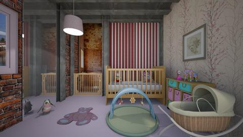 Surprise Baby Nursery - Kids room  - by Tupiniquim