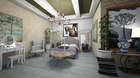 Bedroom - Classic - Bedroom  - by Nikos Tsokos