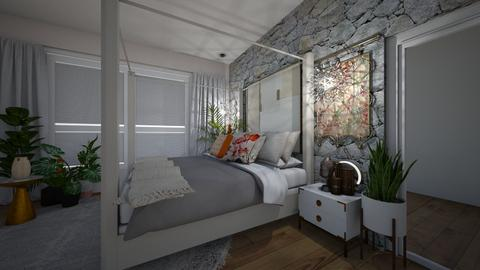 tropical house - Eclectic - Bedroom - by beautifulwoah