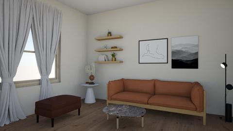 CLASSIC LIVING ROOM - Living room  - by SHIRA DAYAN STUDIO