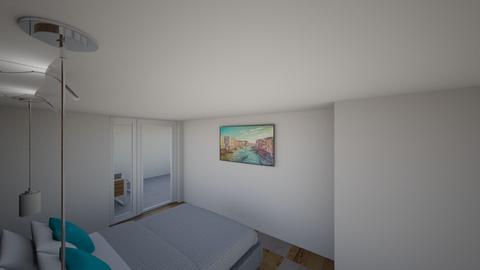 Sypialnia2 - Modern - Bedroom  - by maleaw92