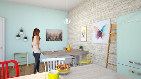 Kitchen 3 - Kitchen - by AlessiaDW