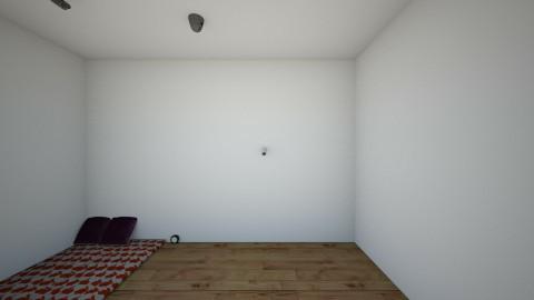 floor bed - Bedroom - by mr pie