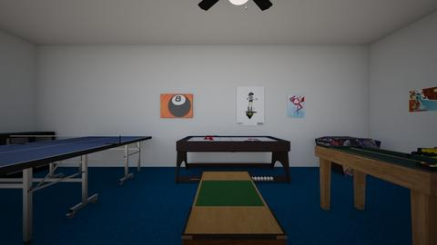 Underground Game Room - Kids room  - by WestVirginiaRebel