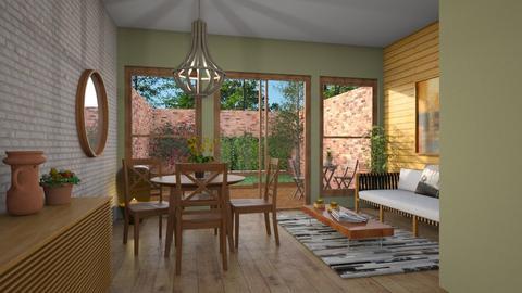 Garden template - Dining room  - by Alecio