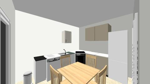 Erdgeschossneu - Vintage - Kitchen  - by deleted_1589033184_pesch