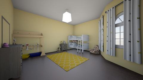 kid room - Kids room  - by mousa002