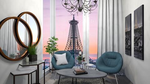 Paris Apartment - Office  - by SydTheKid4