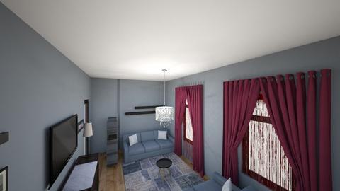 amerikan - Living room  - by ordertaker45