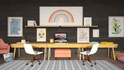 Estrella - Eclectic - Office  - by LuluDesignStyle