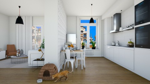 Apt - Modern - Living room  - by martinabb