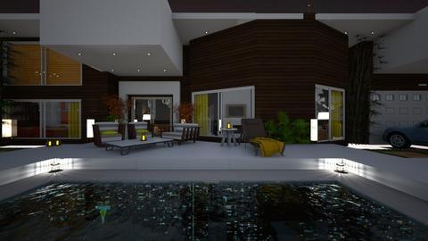 Pool 18 - Garden  - by nanabpf