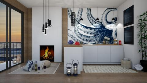 Kraken Kitchen - Modern - Kitchen  - by Roquette