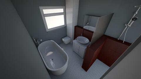 bathroom v5 - Bathroom  - by aledpc13