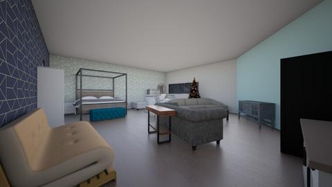 ik wil me kamer zo - Glamour - Bedroom  - by amyananka