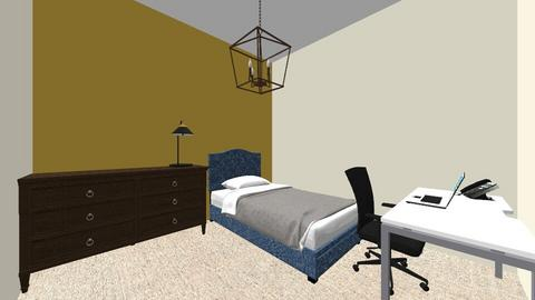 habitacion que nunca tend - Minimal - Bedroom  - by norzeuz