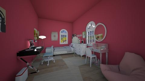 teenage room - Classic - Kids room  - by MerryChristmasBaybay