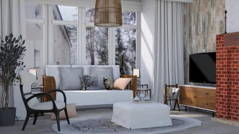 Template Baywindow Room - Modern - Living room  - by augustmoon