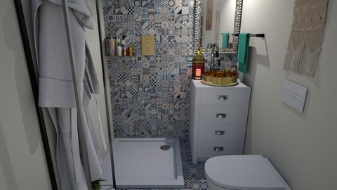 toilet - Eclectic - Bathroom  - by mmt_regina_nox