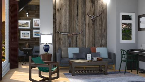 Wooden Wonder - Modern - Living room - by Gurns