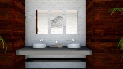 Bathroom - Modern - Bathroom  - by psychette7