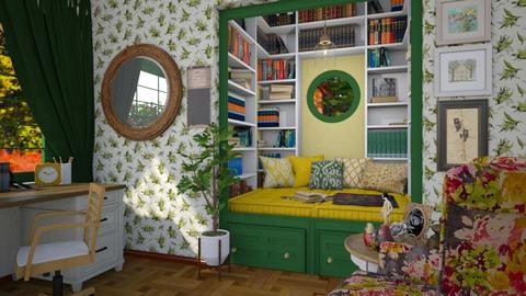 reading nook - Country - by donella